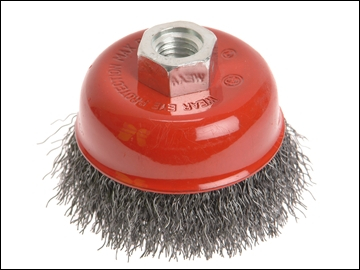 Wire Wheel Cup Brush 150mm For Angle Grinder M14 x 2 0.30mm